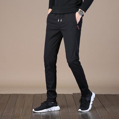 原宿风男裤小西装男便宜的七分裤男男装女学生裤子韩版牛仔小脚女