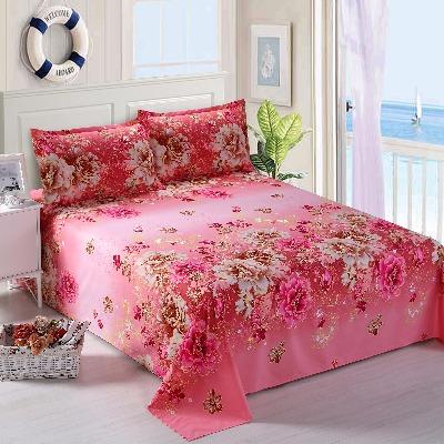 床单单件亲肤柔软透气双人学生宿舍床单被单单人床1.5/2.0/2.3米